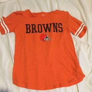 Cleveland browns women's top XS NFL